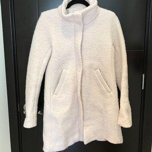 LOFT Funnel Neck Wool Pea Coat in Great Condition